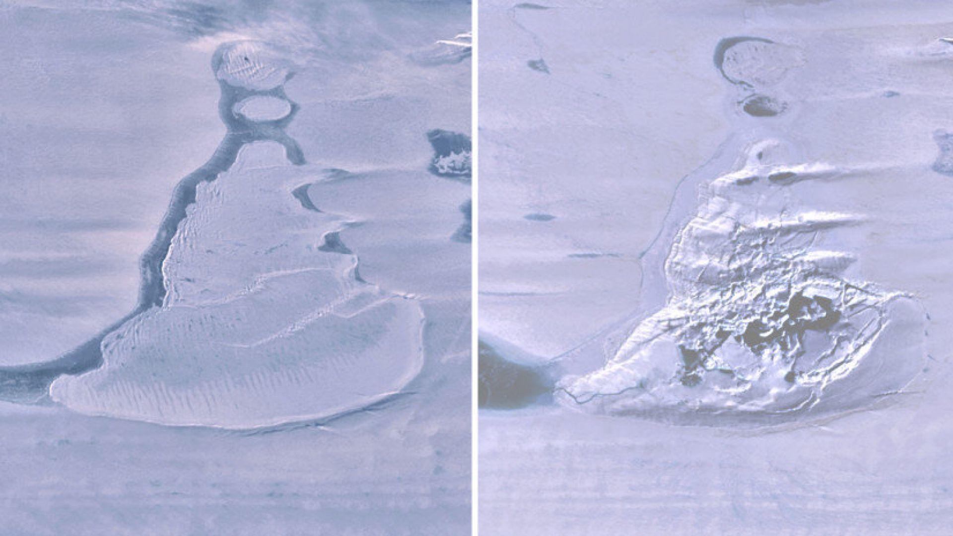 Езеро в Антарктида внезапно изчезна