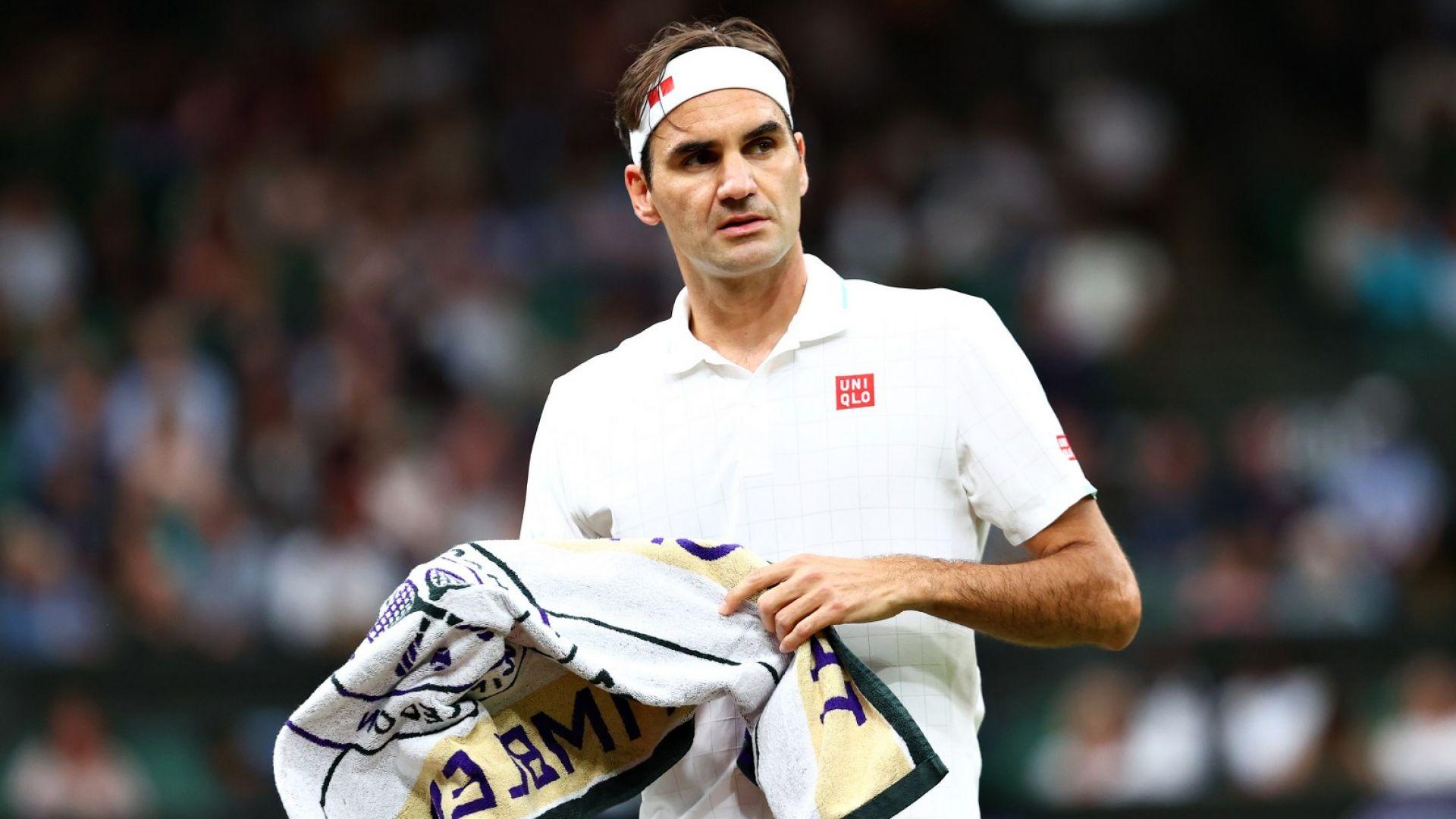 Федерер за травмата си: Най-лошото е зад гърба ми, всеки следващ ден е по-добър