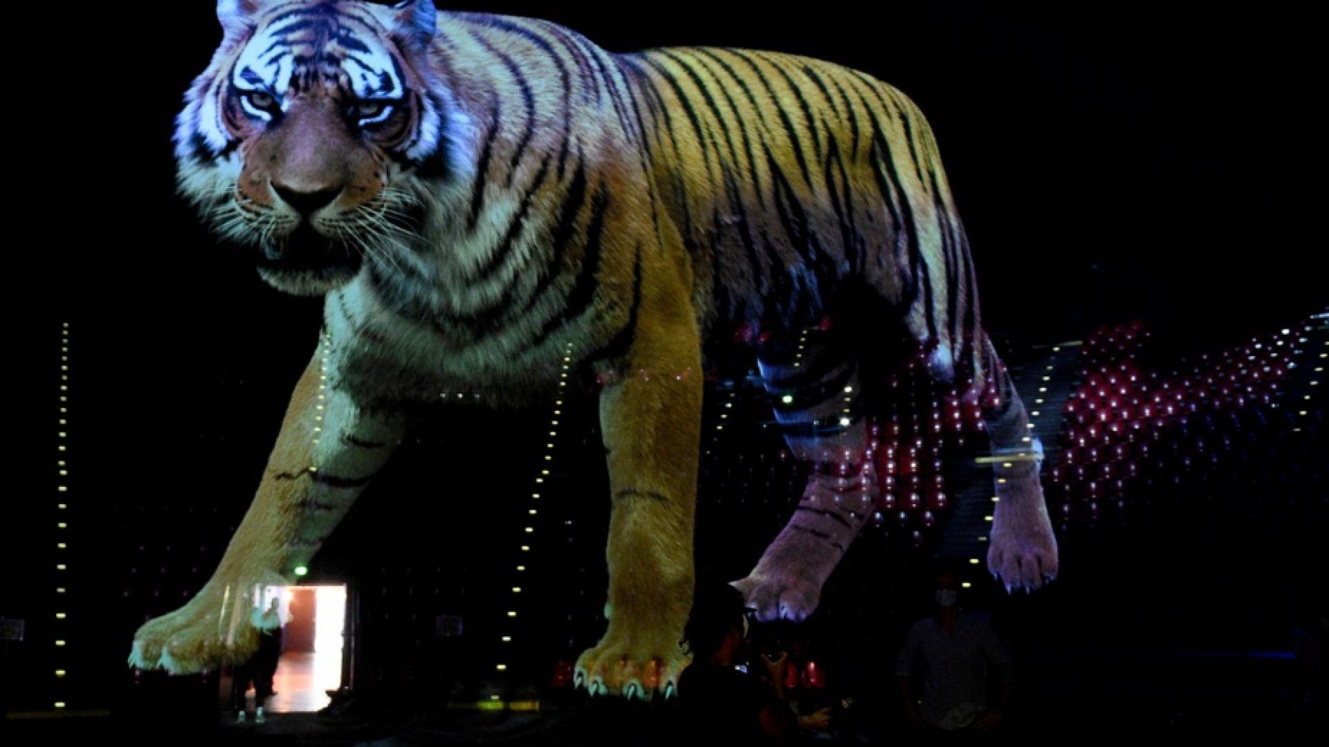 Франция представи най-голямото холографско кино в света