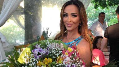 Глория отпразнува рождения си ден с най-близките хора, но без половинката на дъщеря си