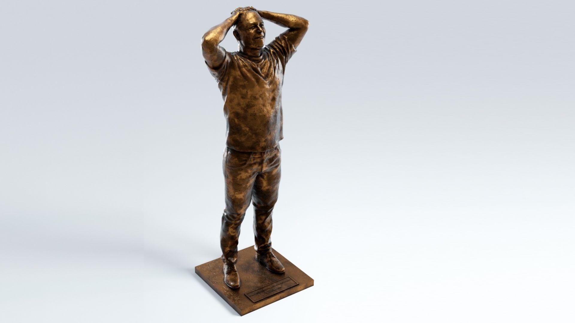 Направиха бронзова статуя на Илън Мъск