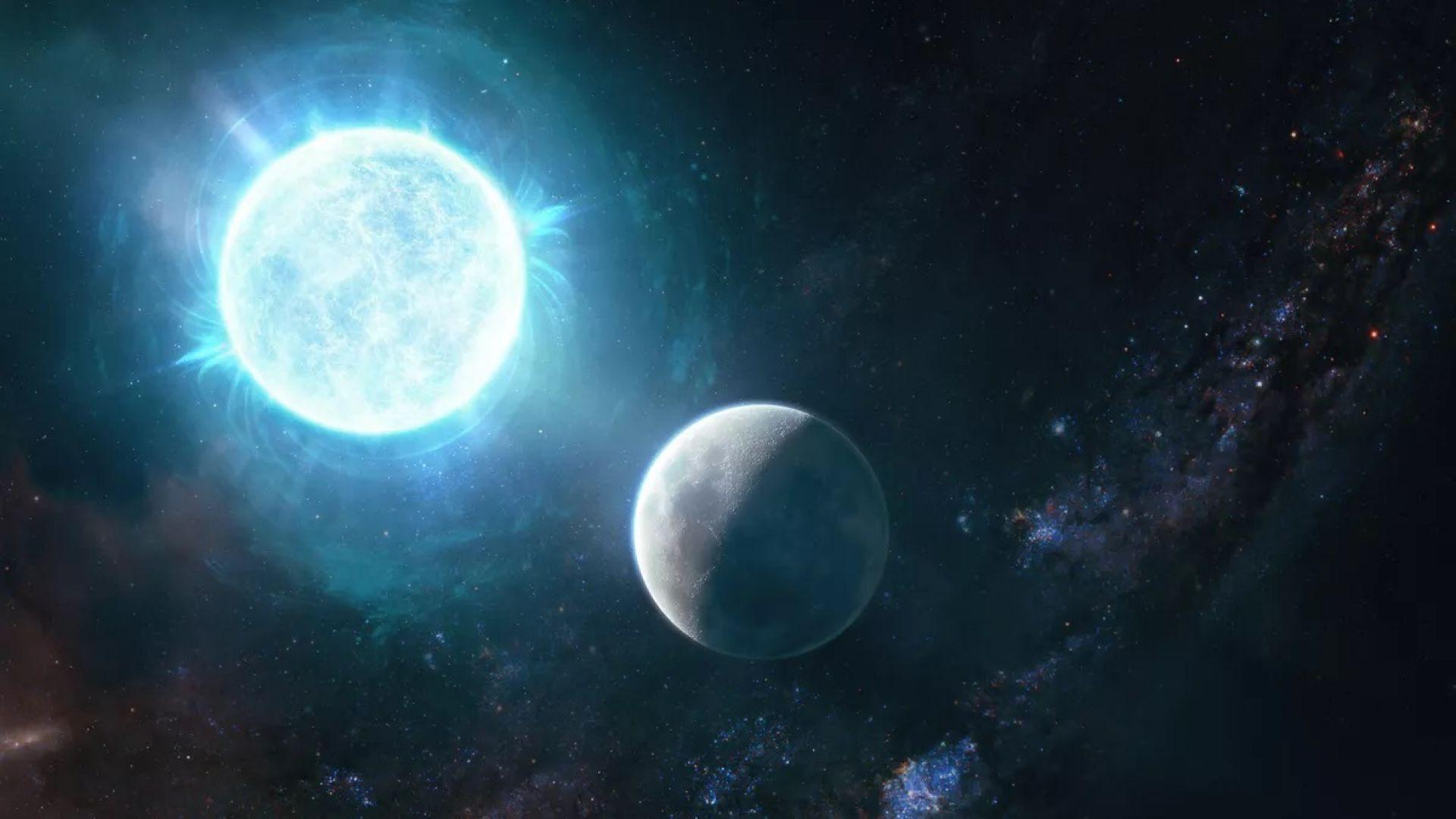 Новооткрита звезда впечатли учените