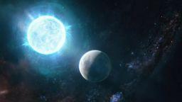 """Откриха огромна планета в орбита около """"мъртва звезда"""""""