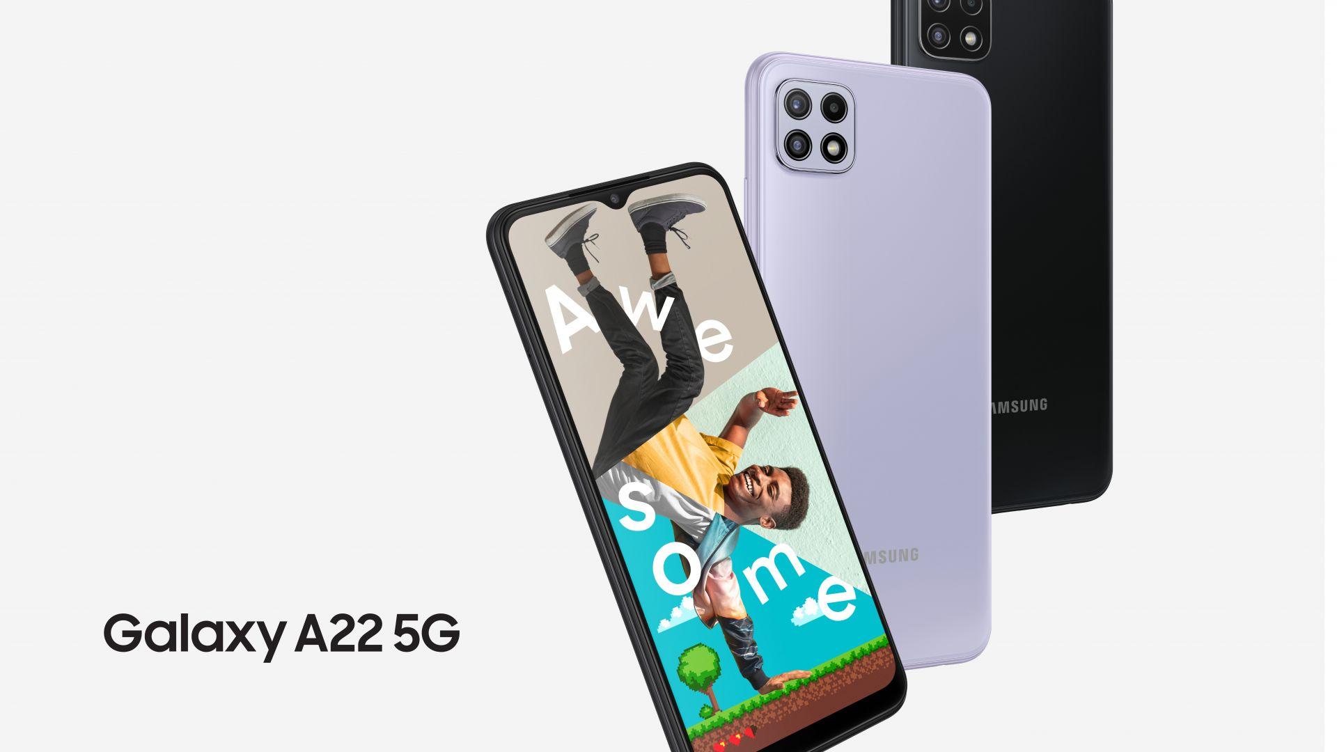 Samsung стартира продажбите на Galaxy A22 5G