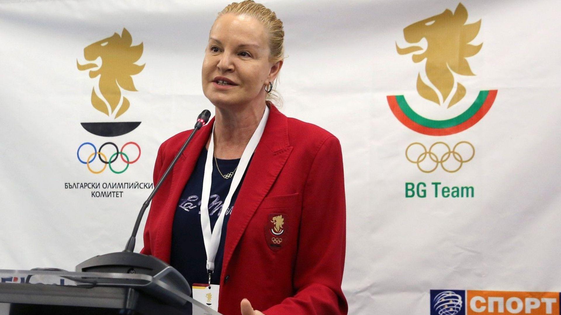 Стефка Костадинова няма да пътува за Олимпиадата заради контузия