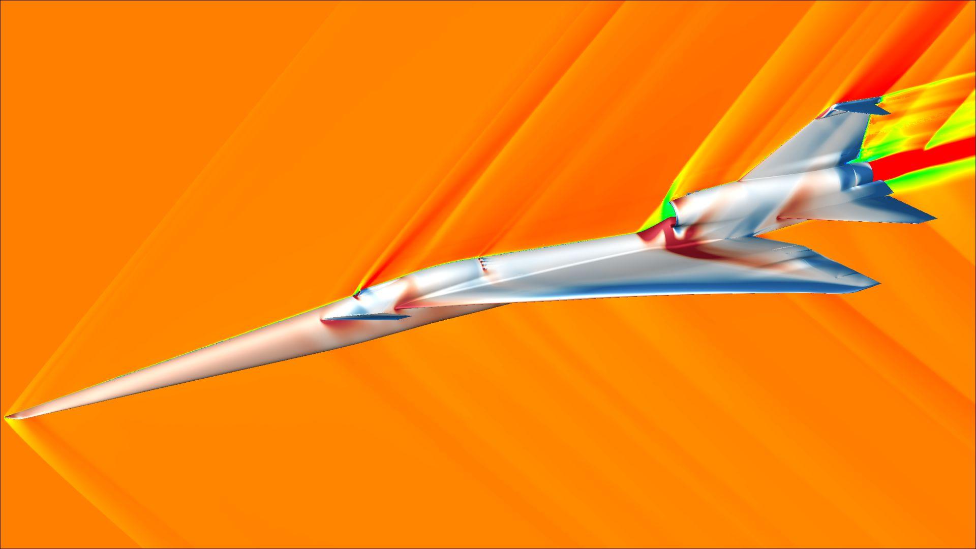 НАСА е на път да създаде безшумен свръхзвуков самолет