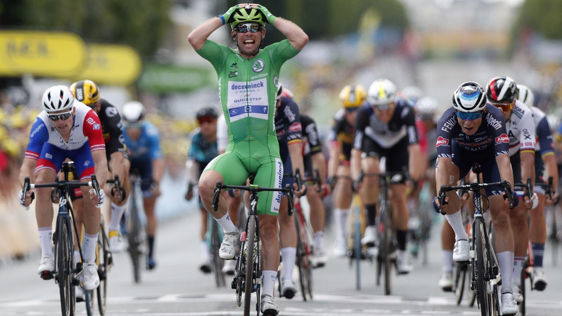 """Ветеранът Кавендиш с 32-а етапна победа на """"Тур дьо Франс"""""""