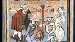 Картина на Пикасо, висяла 50 години в килер, се продаде за 150 000 щатски долара