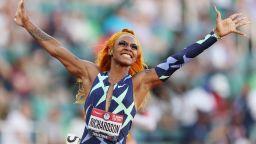Премахват канабиса от забранените вещества в спорта заради най-бързата американка