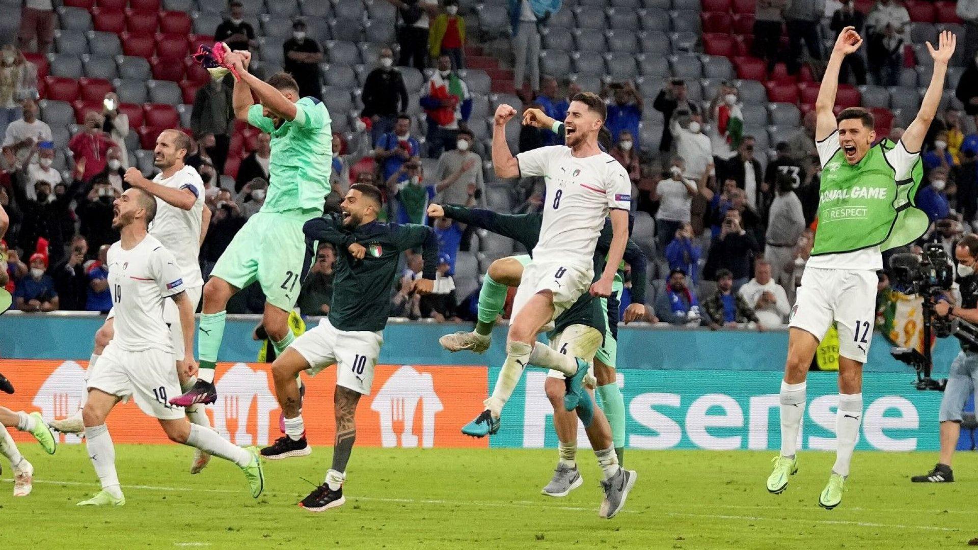 Италия се рее из небесата след рекордната победа, но загуби играча на турнира