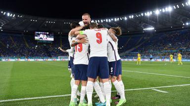 """Футболът крачи към дома: Англия разби Украйна и ще играе полуфинал на """"Уембли"""""""