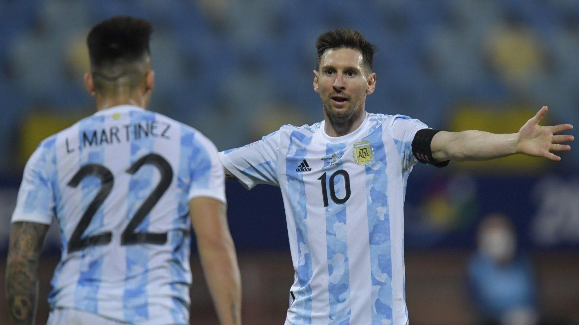 Лео Меси подчини Еквадор, а дузпи изхвърлиха уругвайците