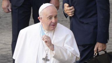 Папата е категоричен - Римокатолическата църква няма да благославя еднополови бракове