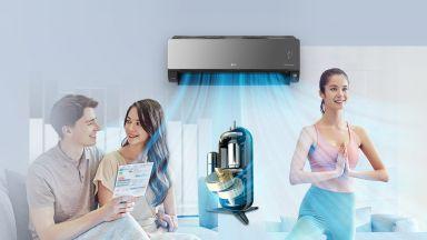 Въздухът вкъщи е още по-чист с климатиците на LG и технологията UV Nano
