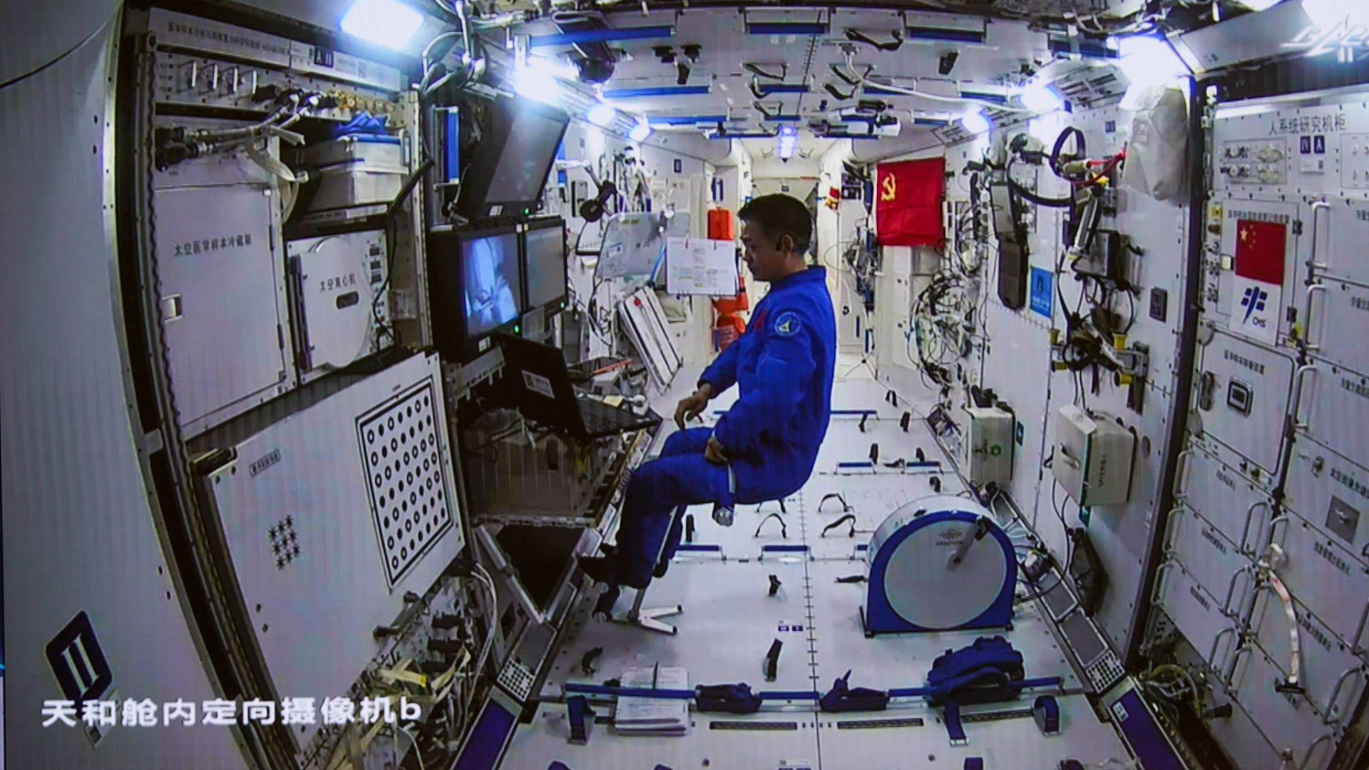 """Китай работи върху """"свръхголям"""" космически кораб"""