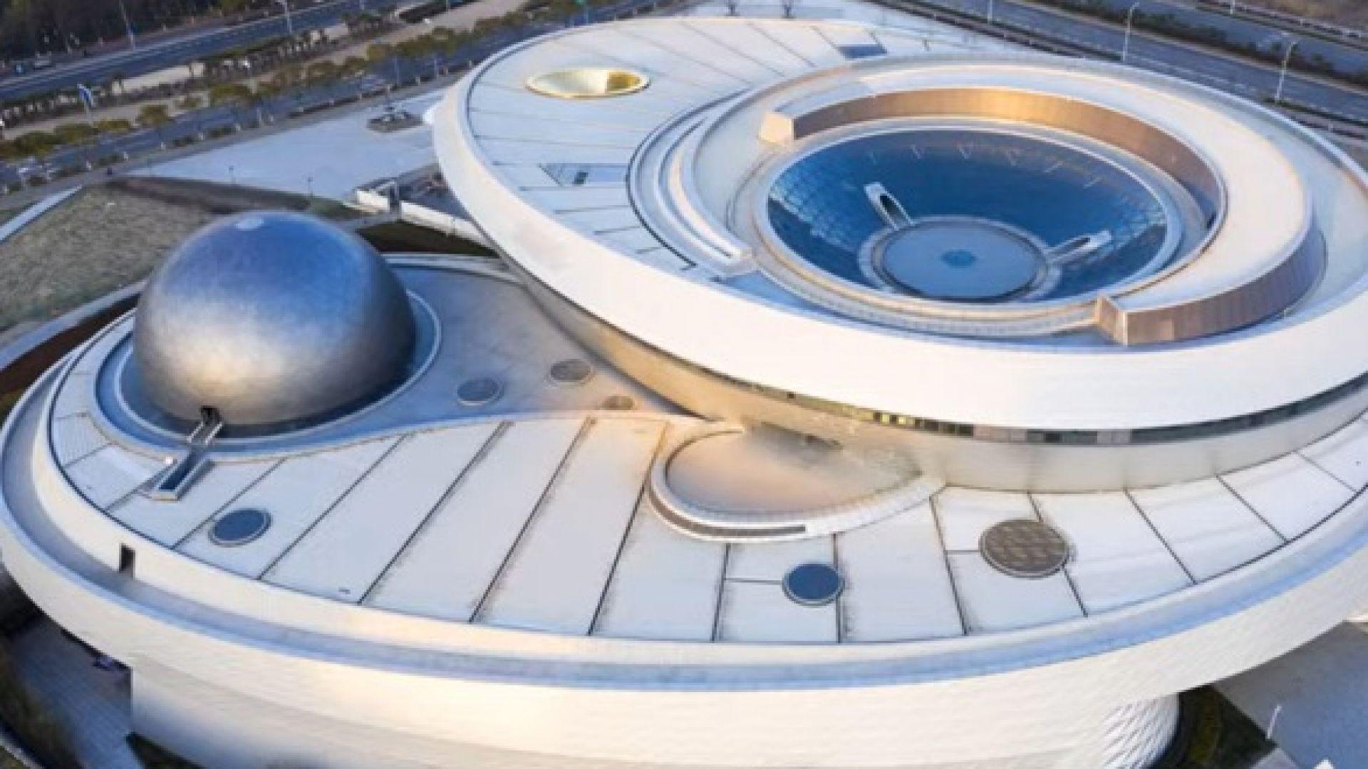 В Шанхай откриват най-големия планетариум в света (видео)