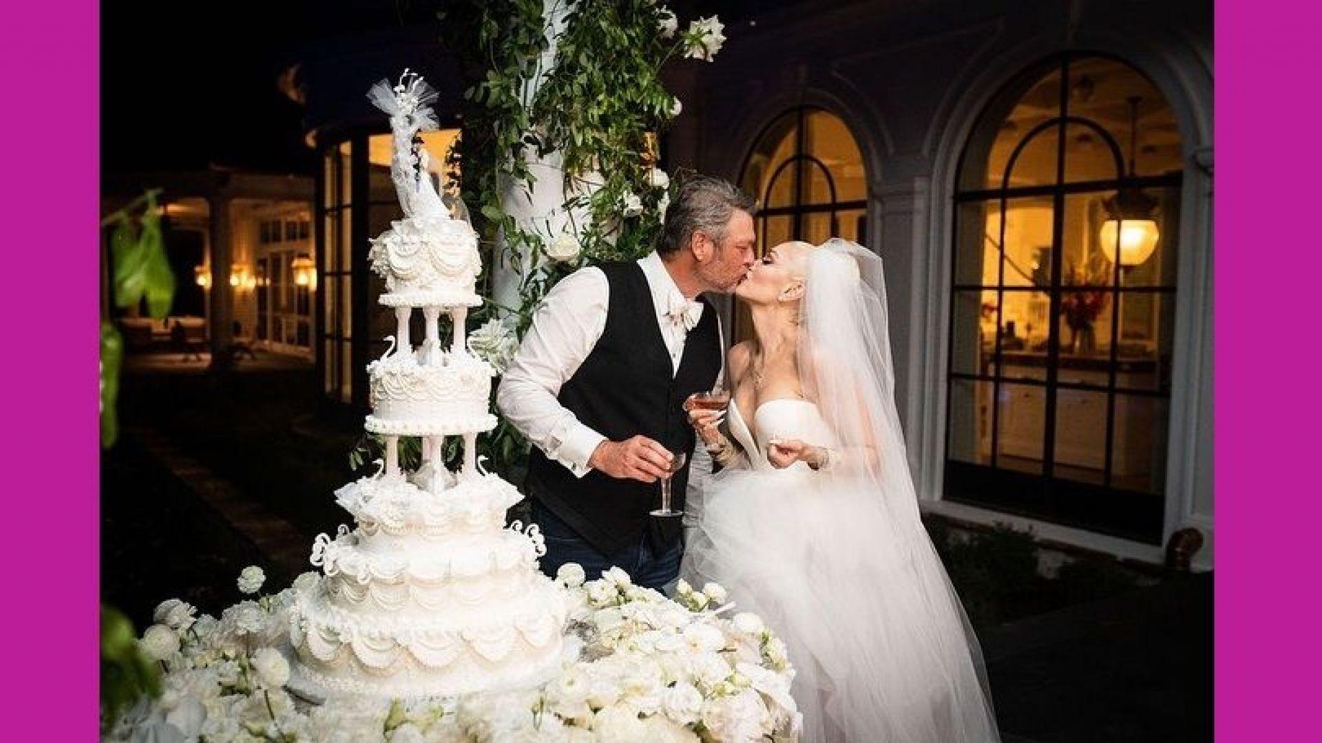 """Гуен Стефани каза """"Да"""" на своя любим на церемония в тесен кръг"""