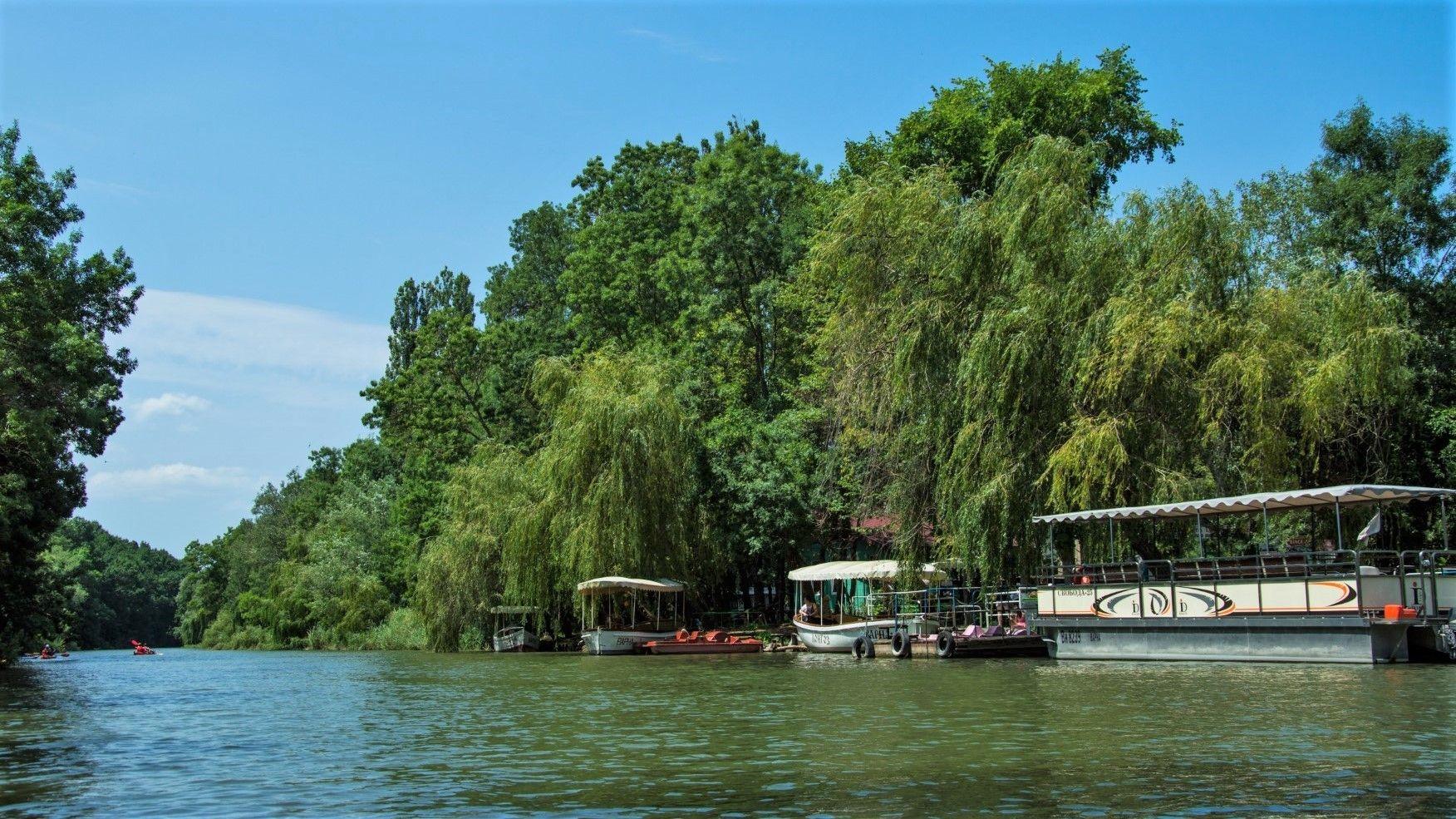 По река Камчия можете да се разходите и с лодка