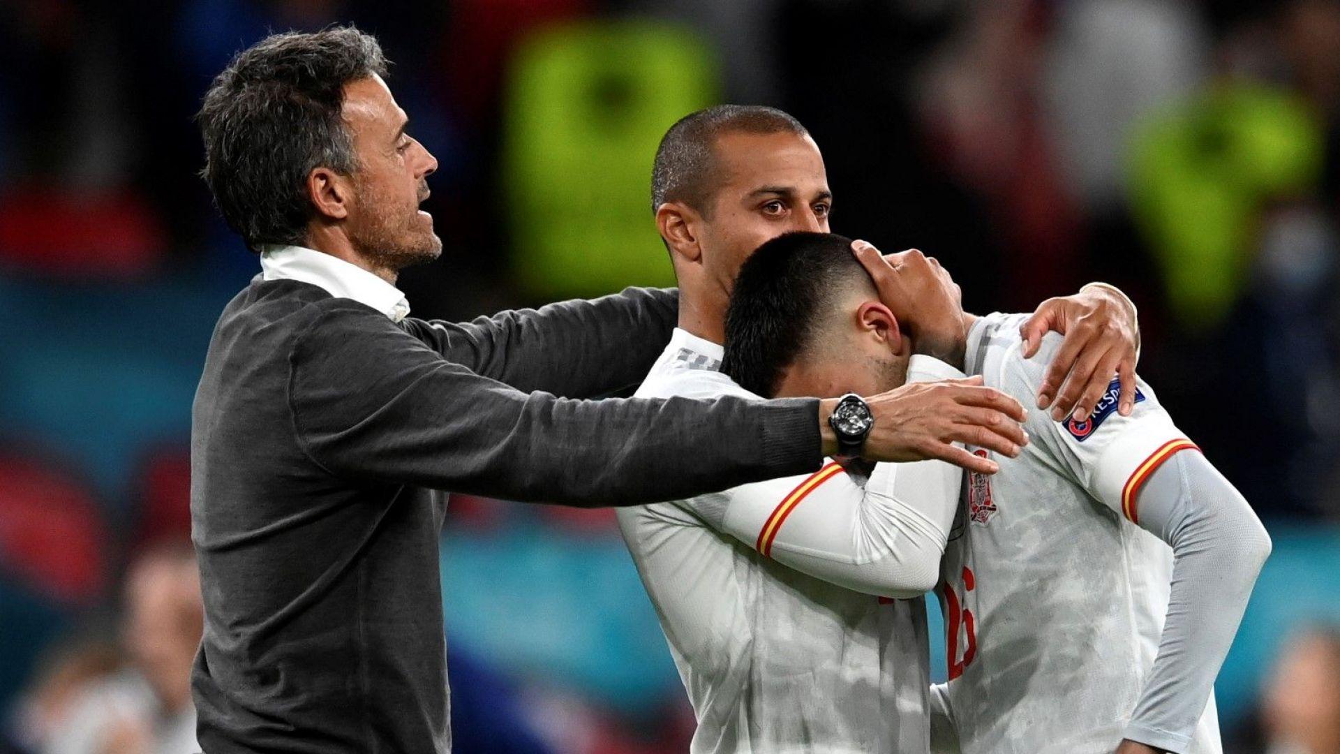 Испания свали шапка на Луис Енрике и отбора: Светът видя кой играе по-добрия футбол