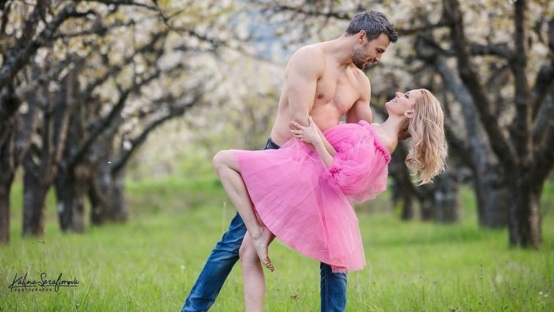 Ивайло Захариев заведе годеницата си на романтична почивка за рождения ѝ ден