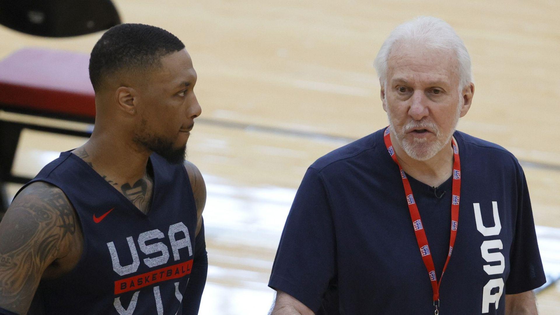 Американският баскетбол събра своя дриймтийм за Олимпиадата (снимки)