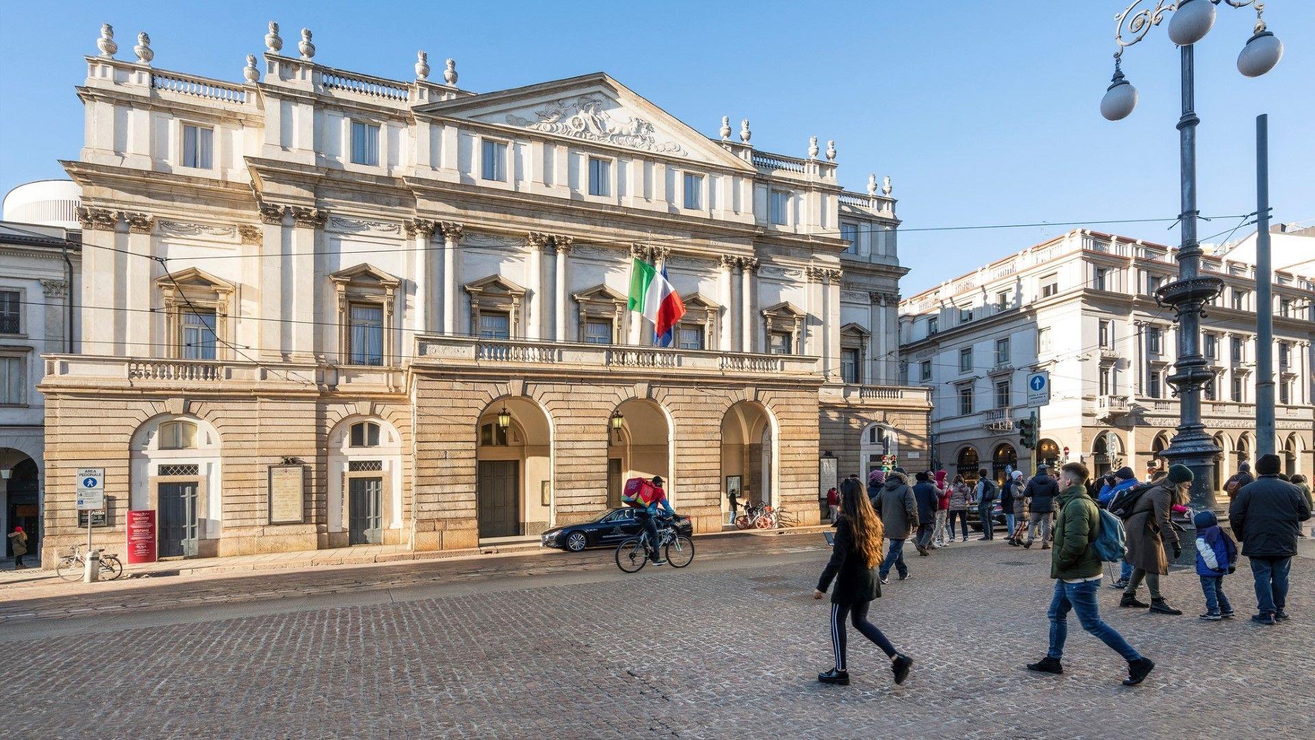 Операта Ла Скала в Милано - една от най-известните оперни сцени в света