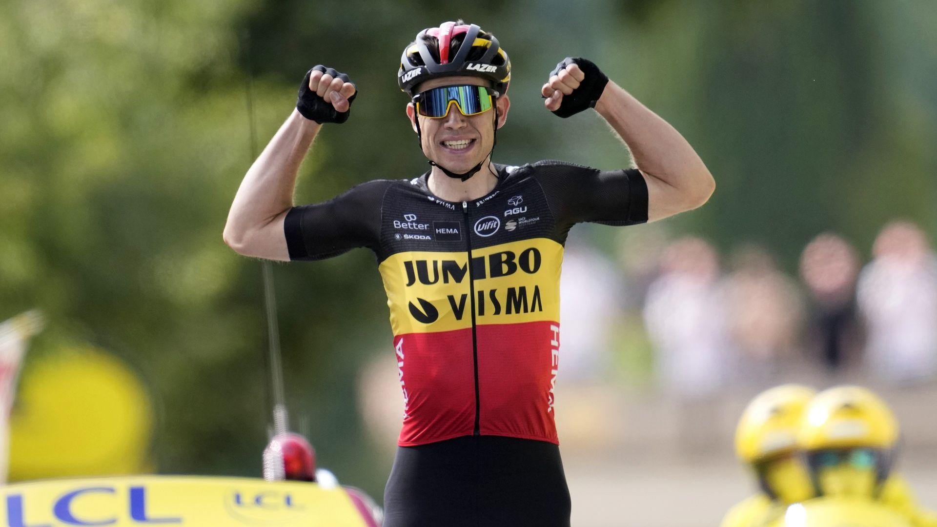 Страхотно каране и белгийска победа в етап 11 от Тура