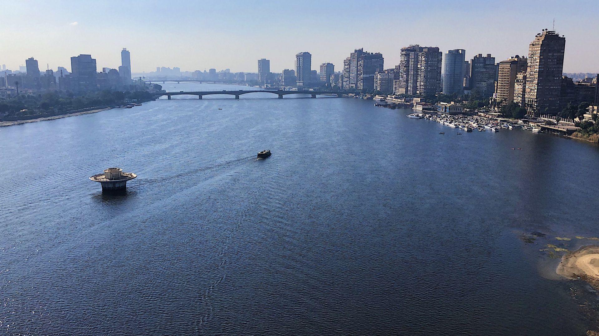 Река Нил край Кайро