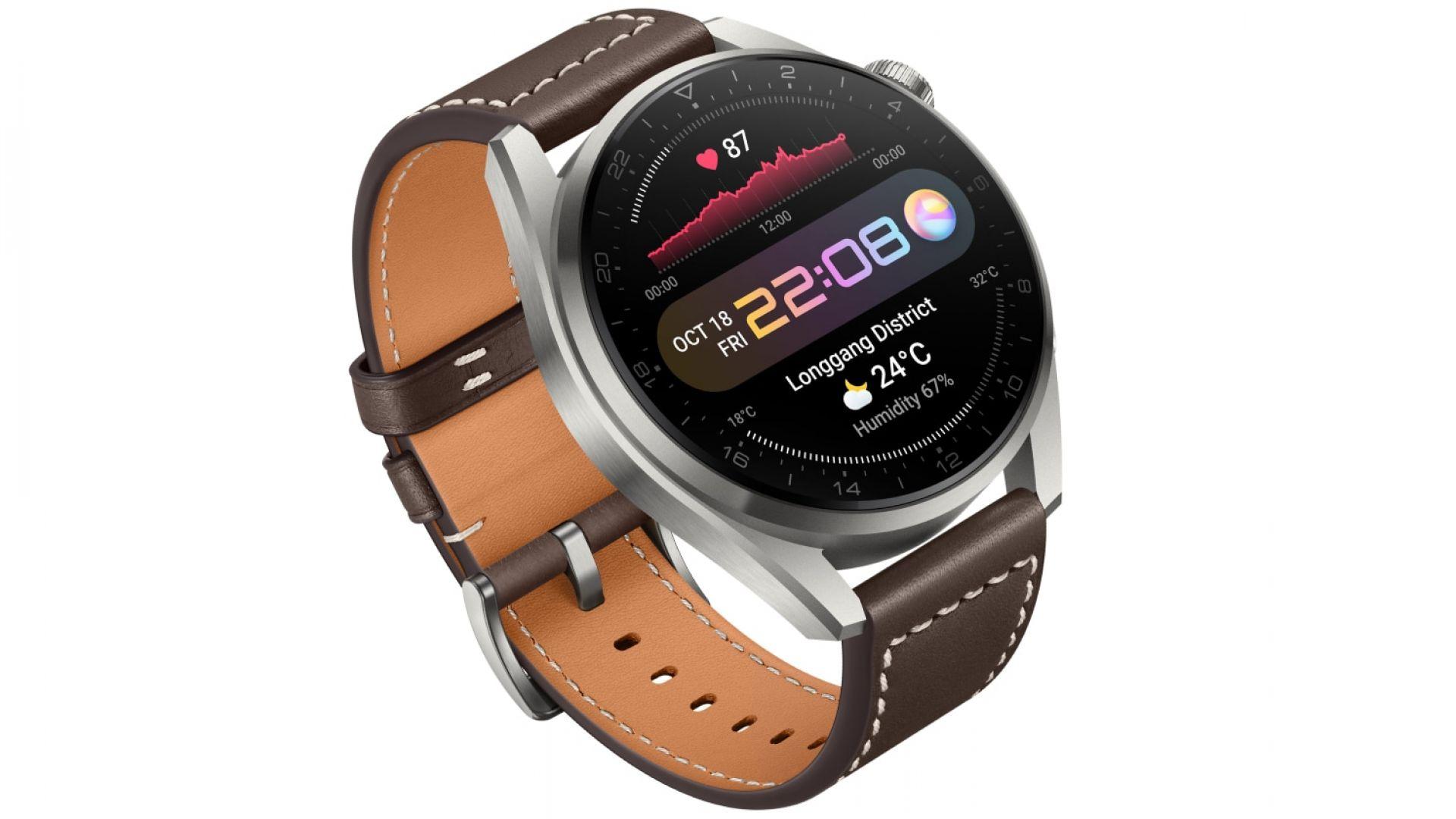 Започват продажбите на серията Huawei Watch 3 в България