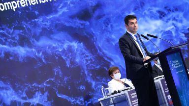 """Кирлил Петков: Иновациите са нова възможност за Инициативата """"Три морета"""""""