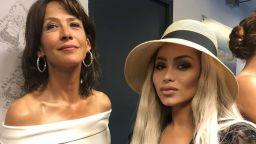 Нора Недкова се снима със Софи Марсо, помислиха я за кинозвезда