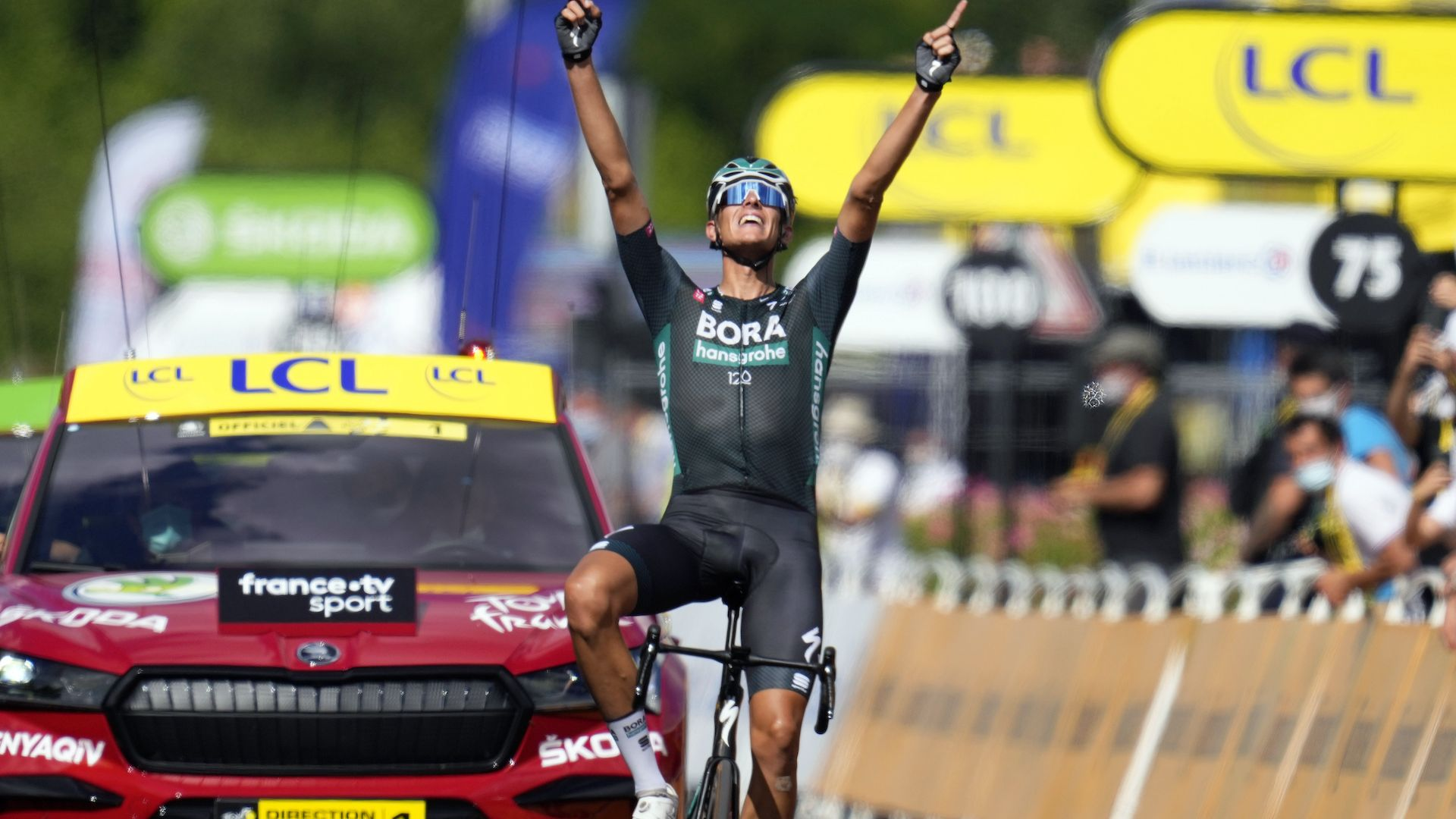 """Германец с дебютна етапна победа на """"Тур дьо Франс"""""""