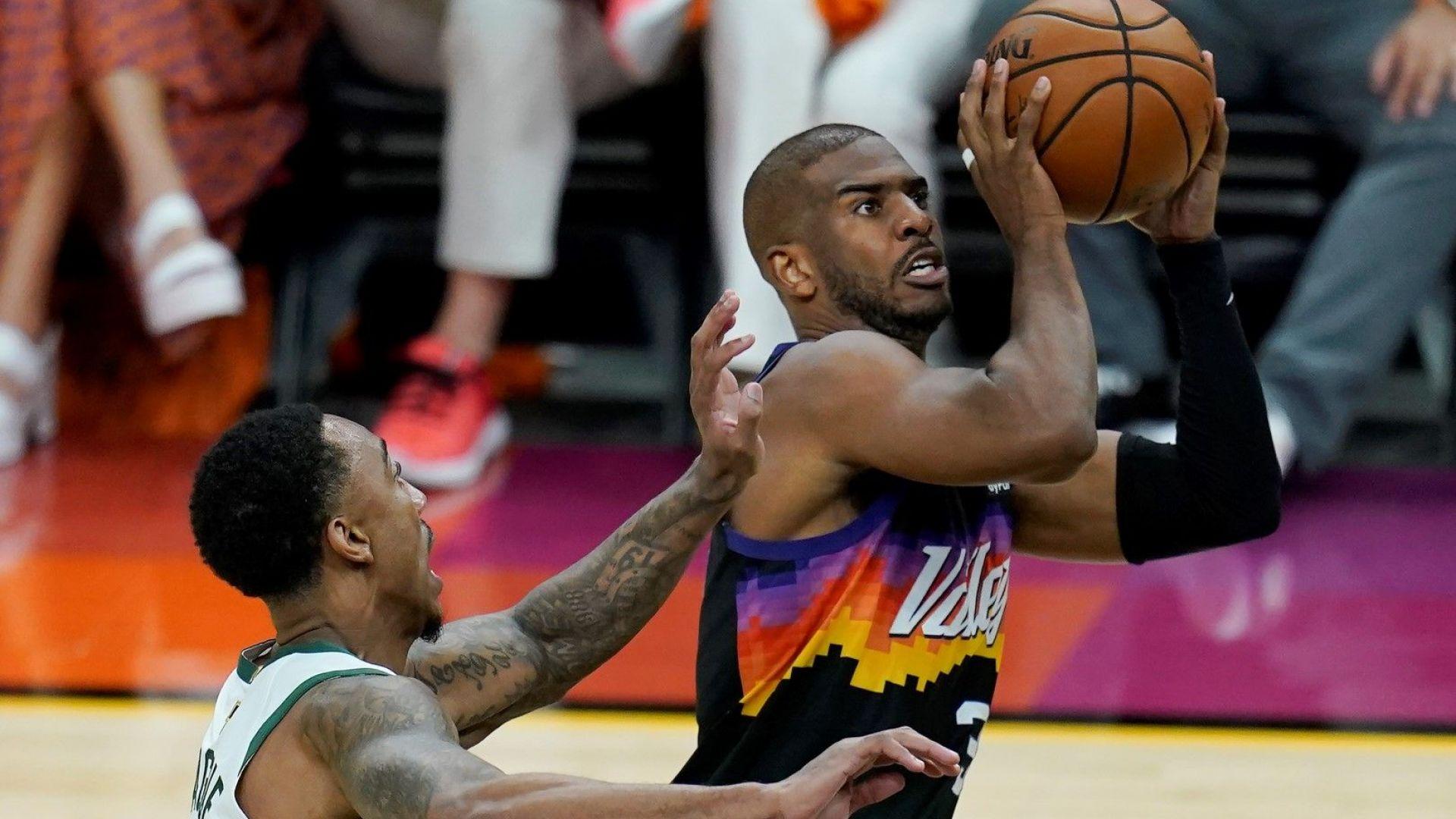 Финикс протегна две ръце към титлата в НБА въпреки супергероя Янис