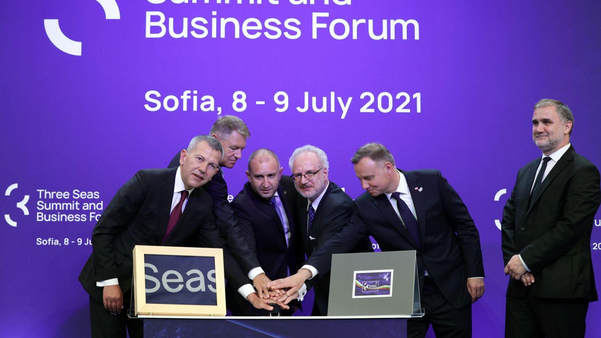 """Какви ангажименти поеха държавните лидери по време на форума """"Три морета"""""""