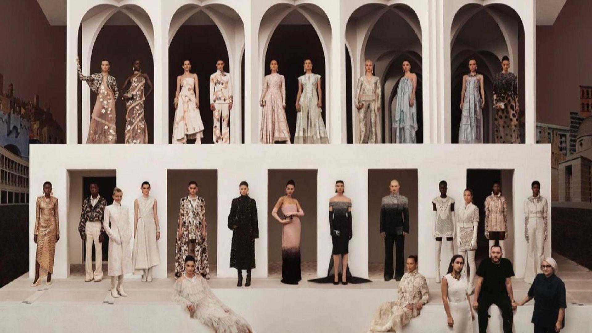 Fendi представи колекция висша мода, вдъхновена от образа на Рим във филм на Пазолини