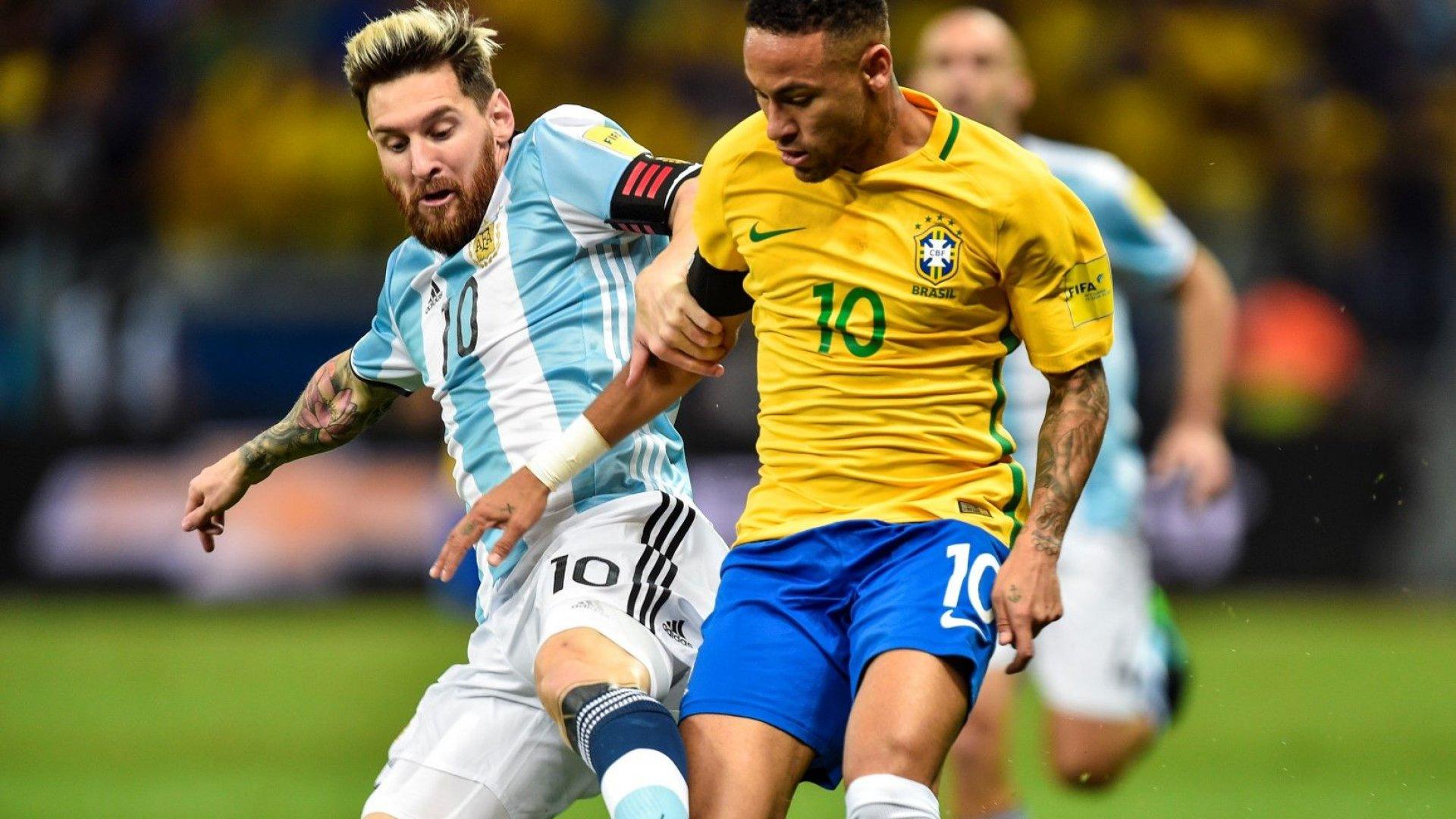 Бразилия си иска златото, а Аржентина пита Меси: Кога, ако не сега?