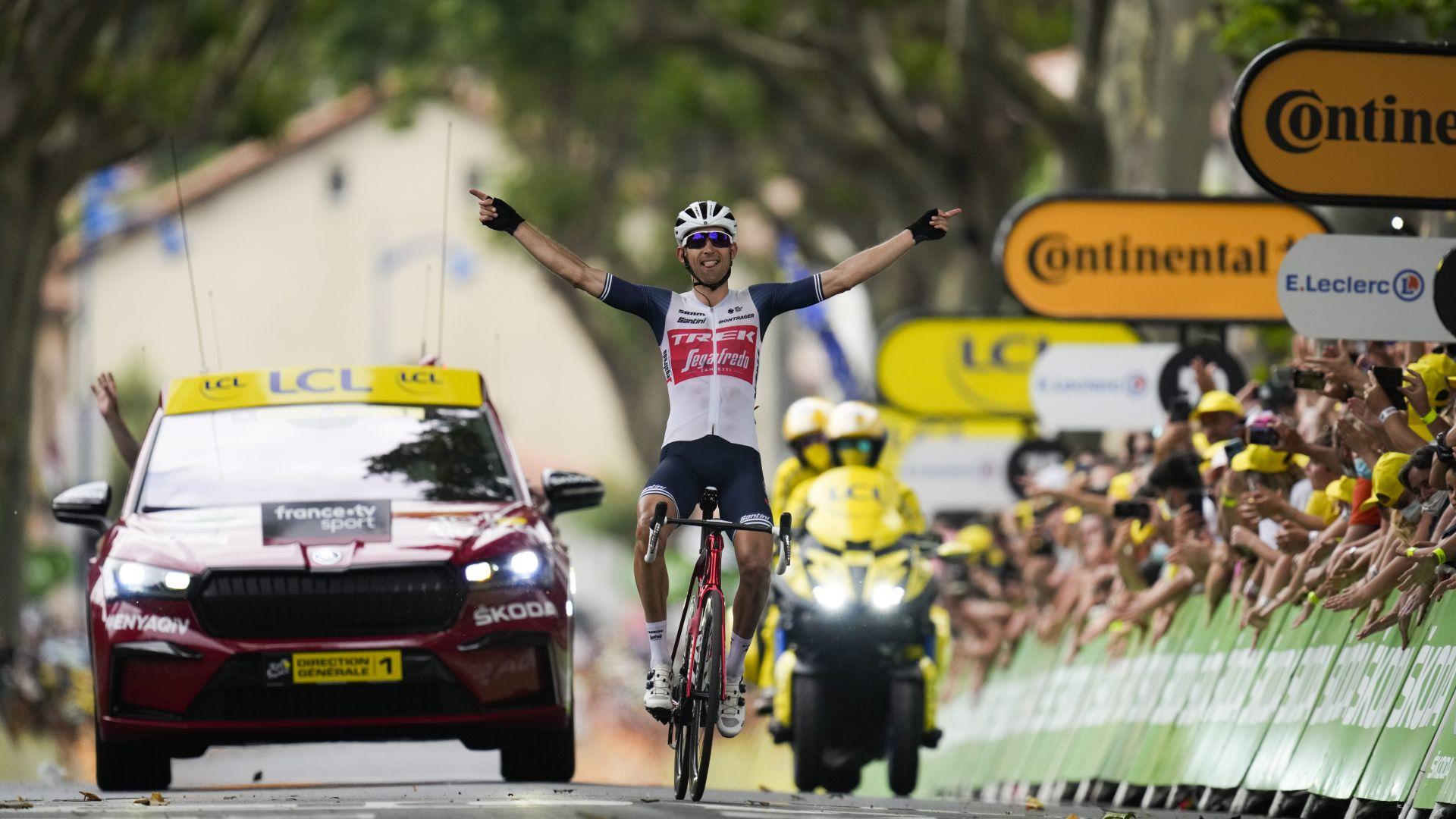 "Нидерландец ликува на ""Тур дьо Франс"" днес, Погачар остава начело"