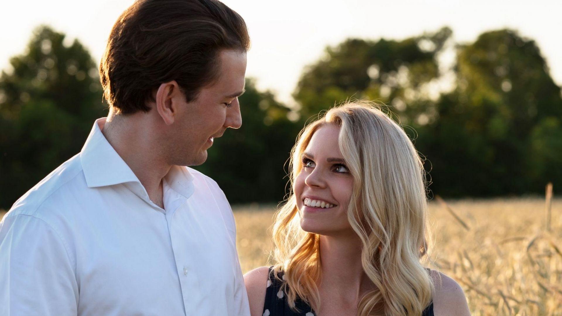 Австрийският канцлер и партньорката му очакват първото си детe