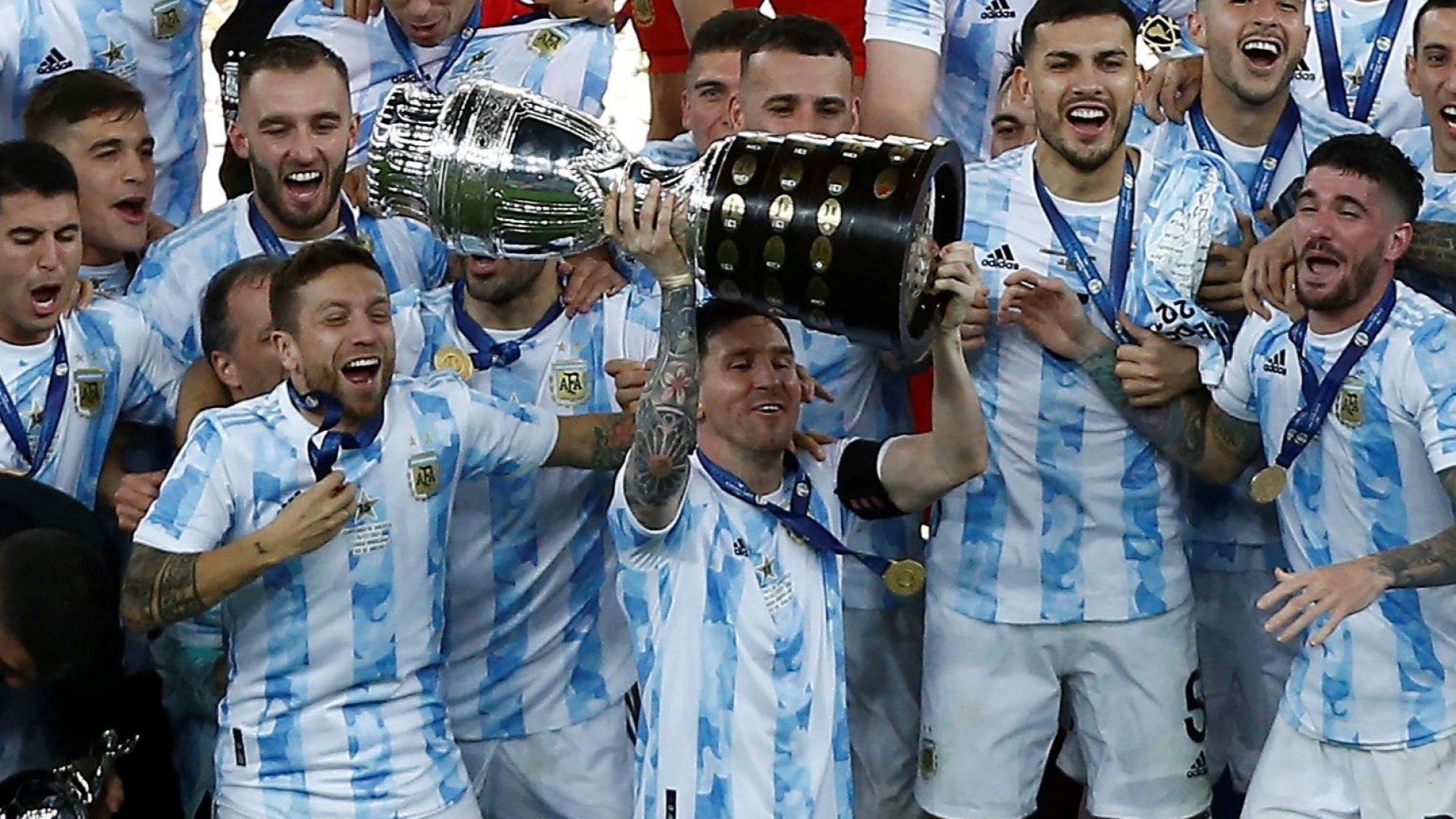 """Аржентина превзе """"Маракана"""" и Меси изстрада през сълзи своята купа (Снимки)"""
