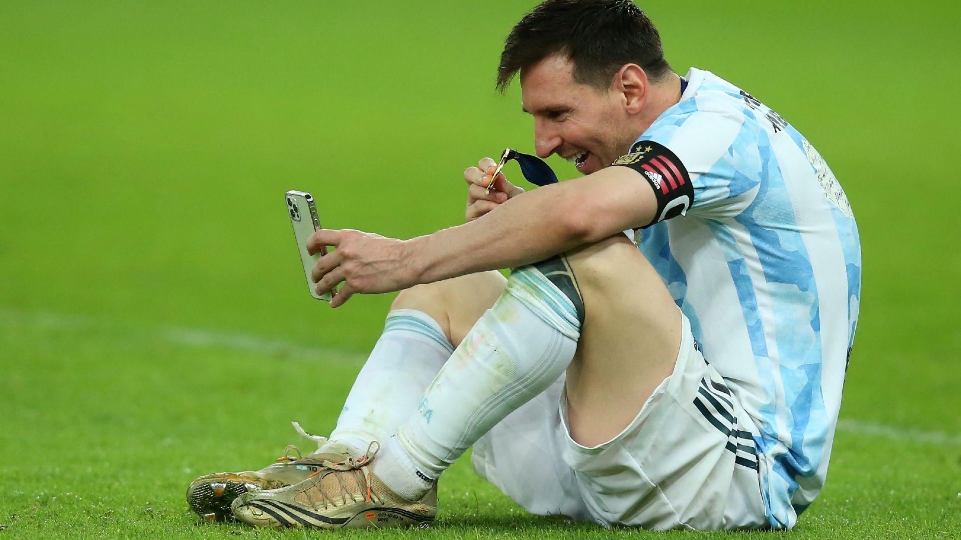 Треньорът на Аржентина разкри, че Лео е играл с контузия в полуфинала и финала