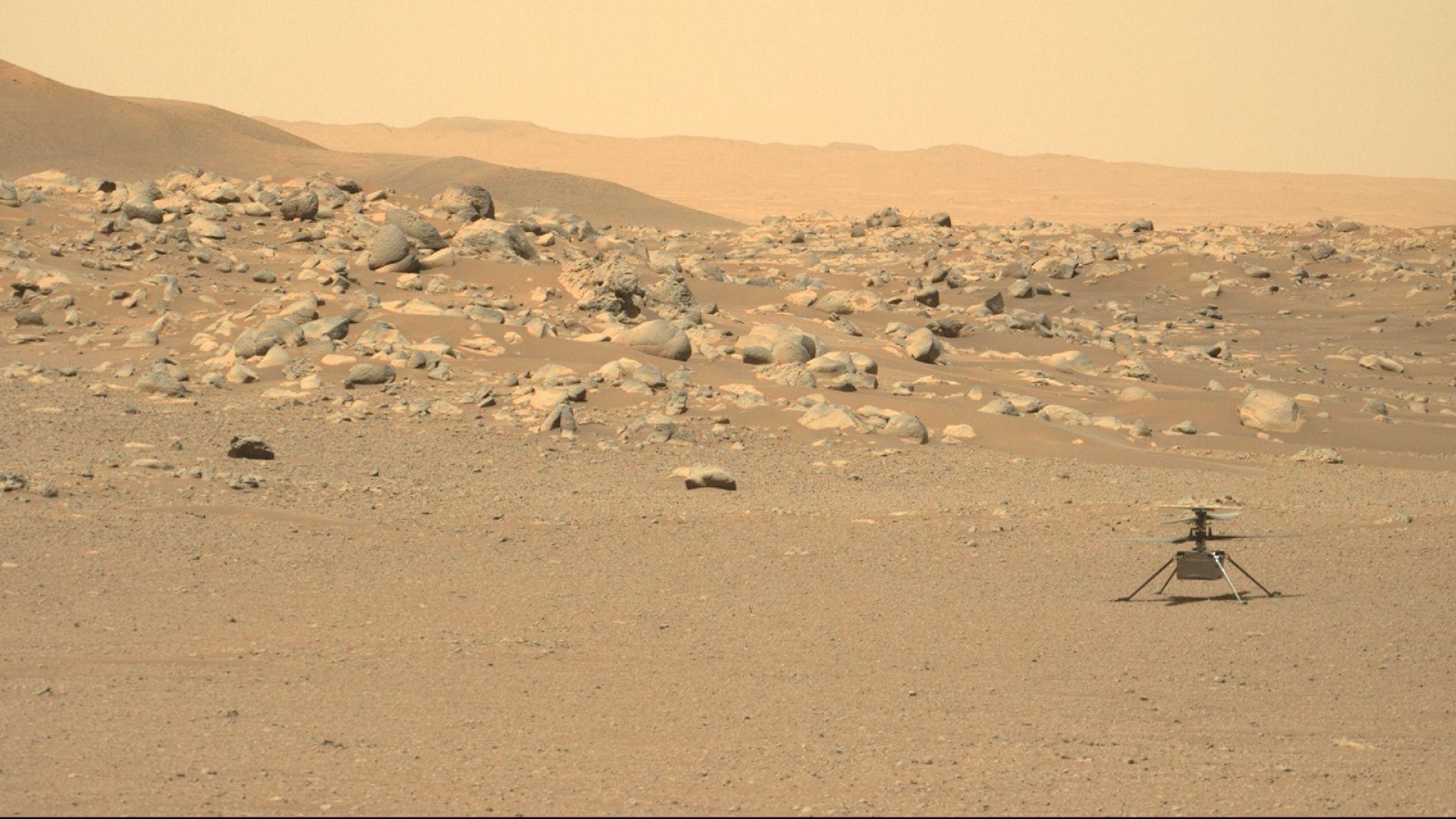 Марсианският хеликоптер на НАСА се оказа в неизправност