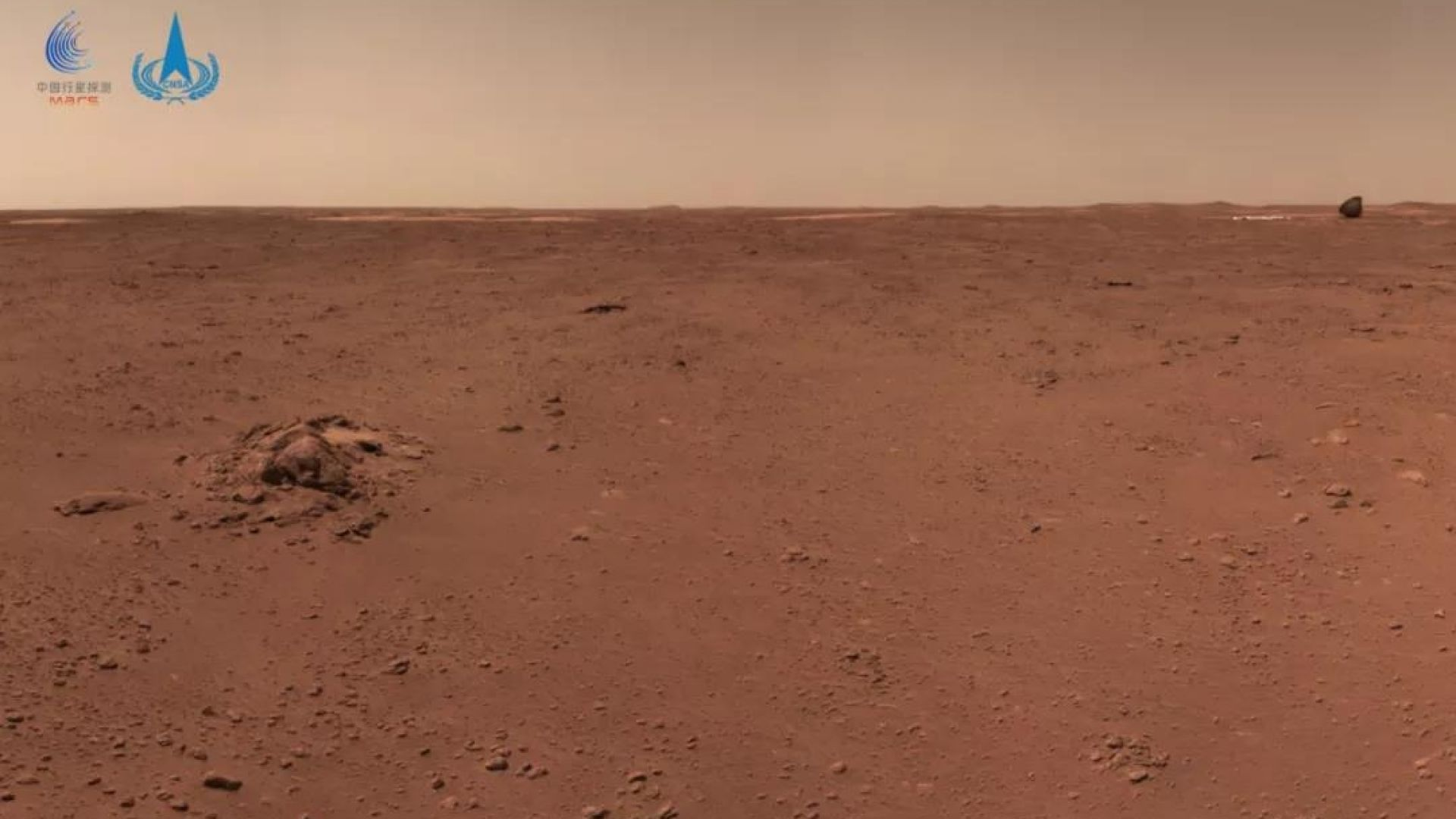 Китайският марсоход измина 410 м