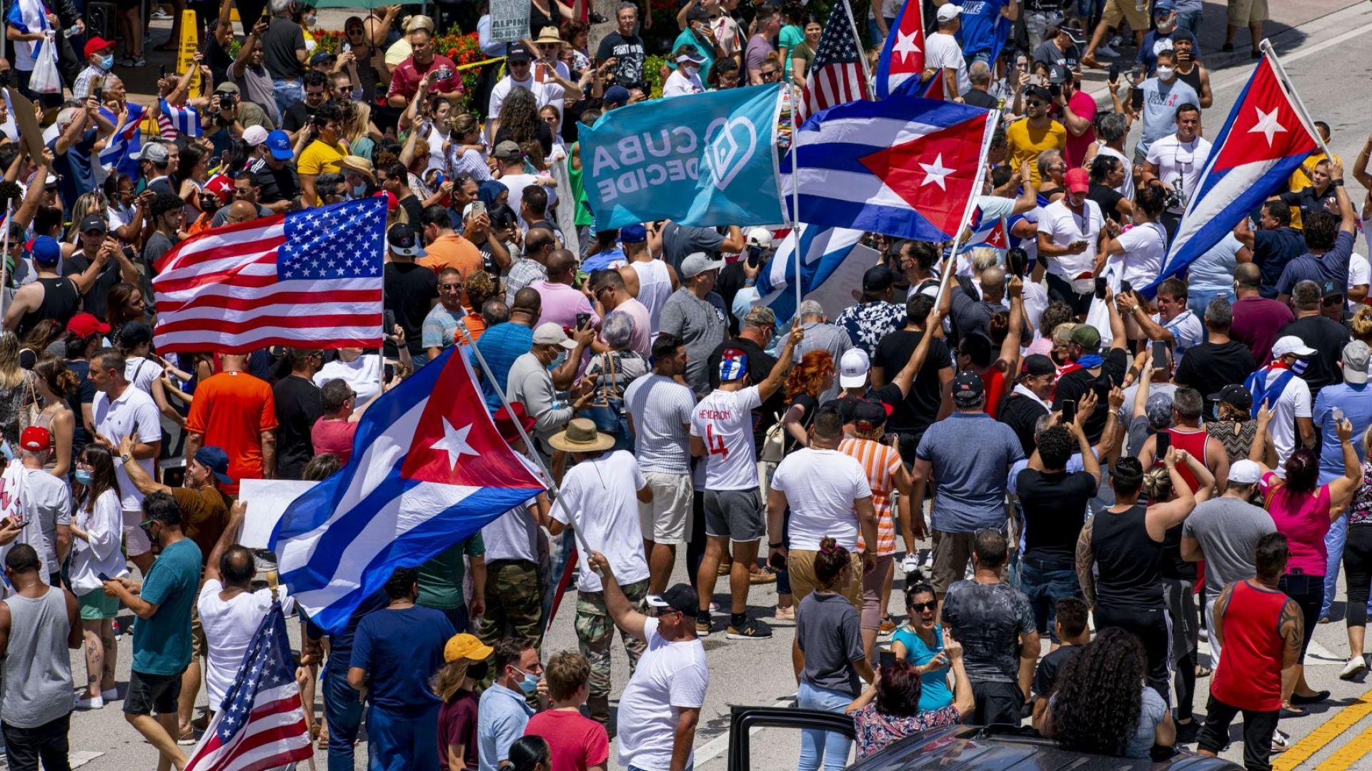 САЩ и Русия в сблъсък за стартиралата революция в Куба
