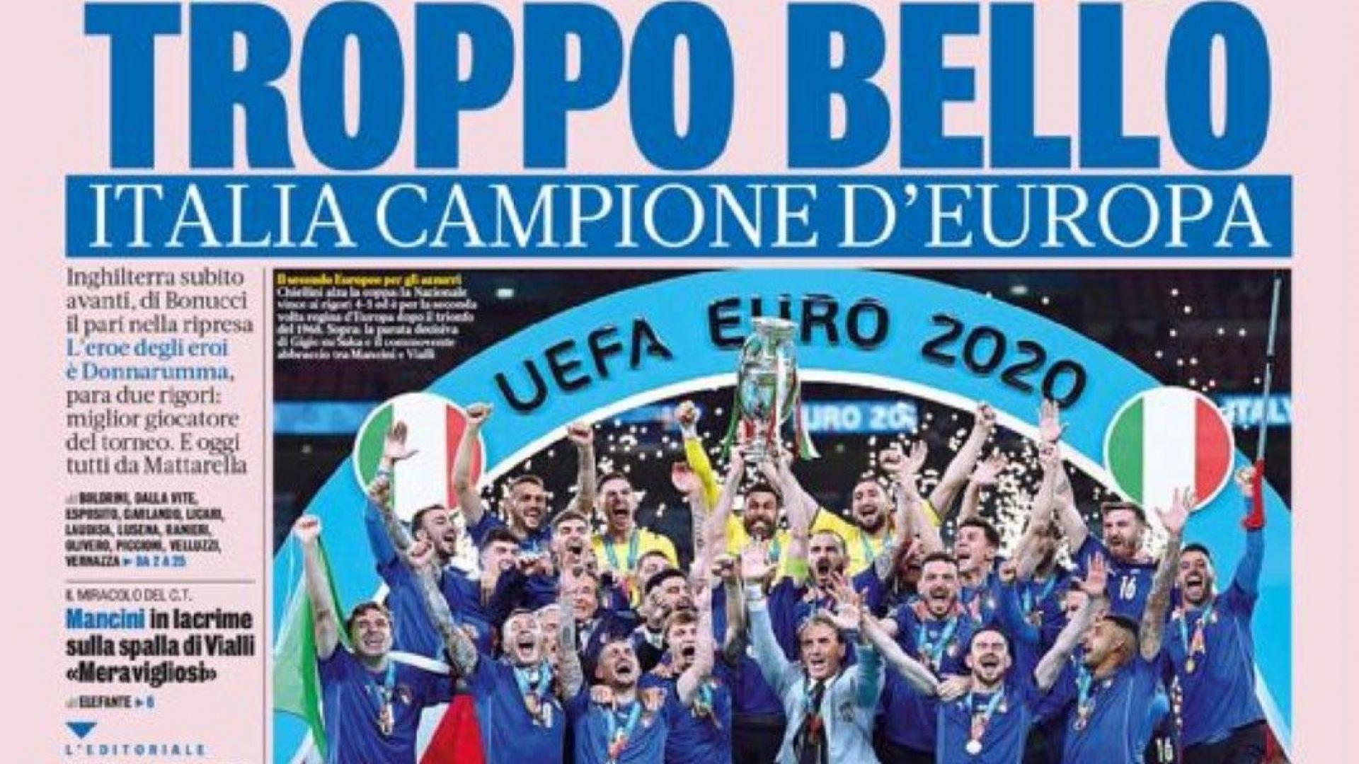 Медиите в Италия: Твърде красиво е!