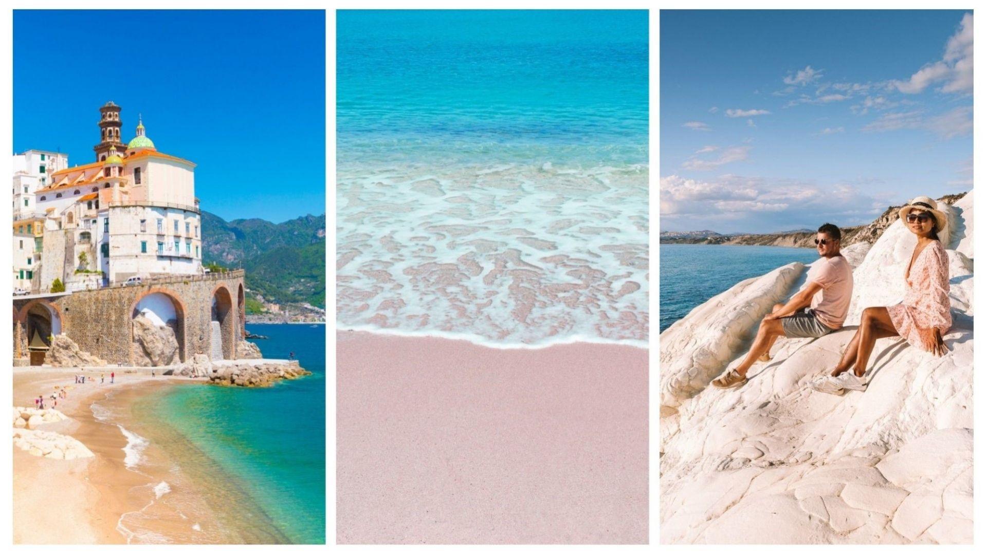 7 спиращи дъха плажа в Италия (снимки)