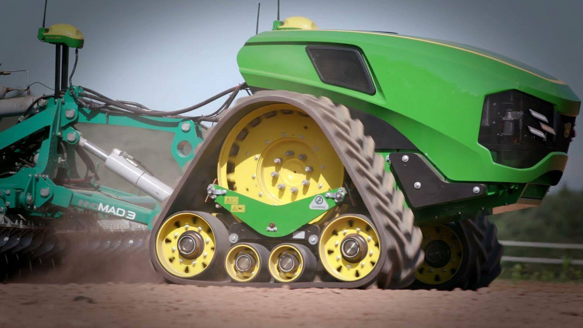 Бъдещето на земеделието: рояци автономни трактори