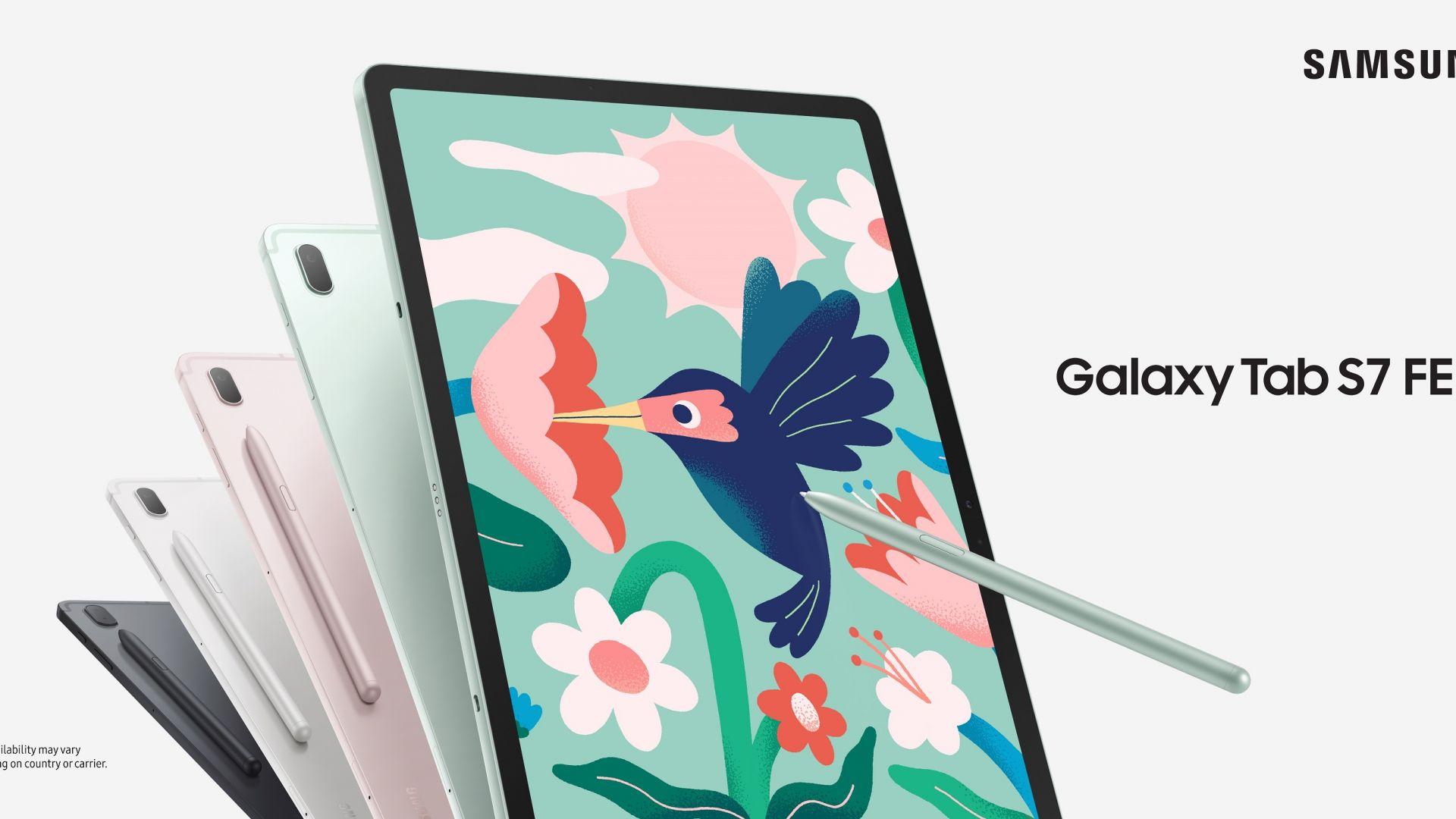 Samsung Galaxy Tab S7 FE вече официално се предлага в България