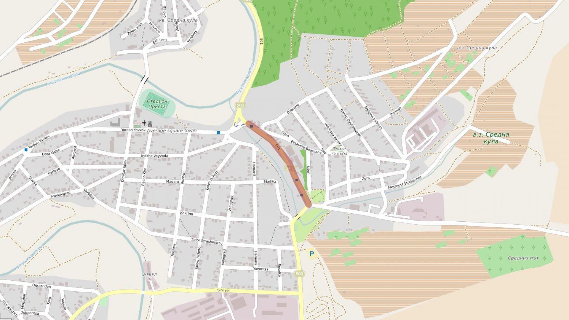 Голям ремонт затваря главна улица в Русе