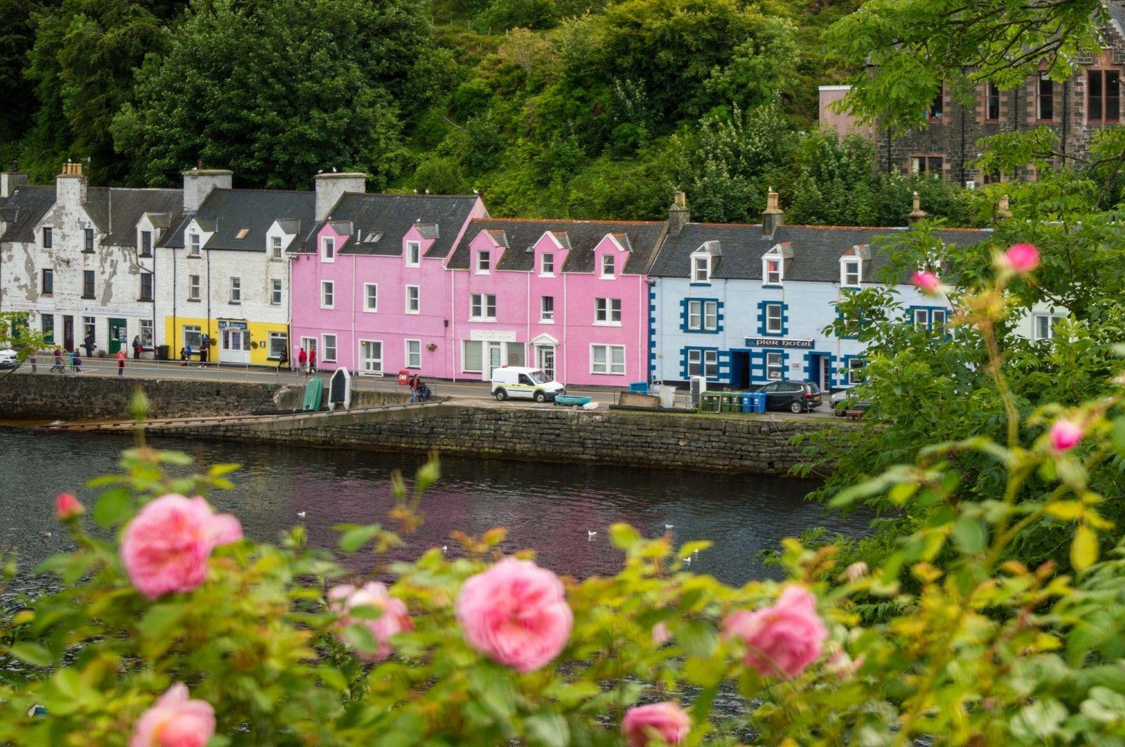 Цветните къщи на Портри са запазена марка на градчето