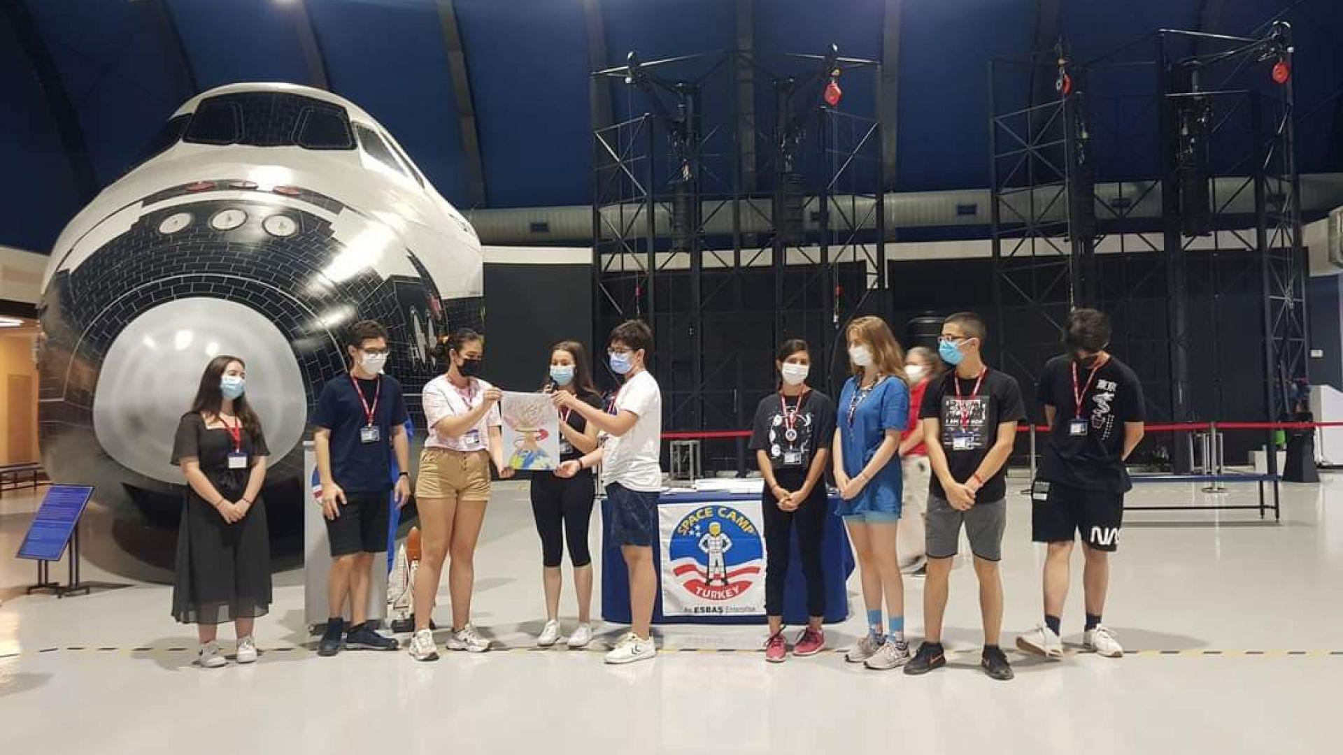 Български ученици спечелиха отличия в обучителен лагер по модел на НАСА